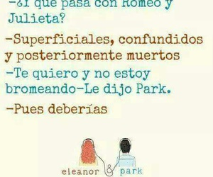 book, frases, and eleanor & park image