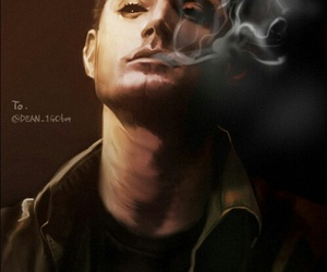 dean winchester and art image