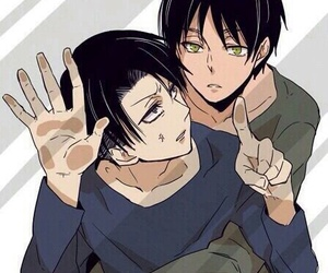 levi, aot, and snk image