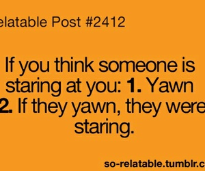 funny, yawn, and quote image