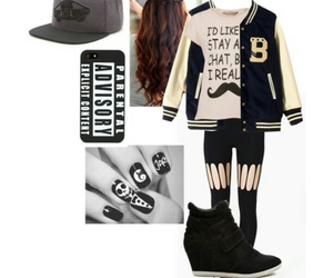 cool, outfit, and snapback image