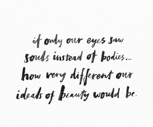 beauty, soul, and body image