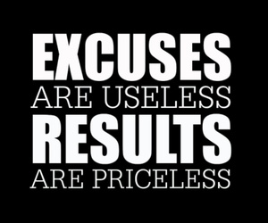 excuses, fitness, and gym image