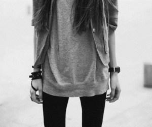 girl, fashion, and skinny image