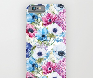 flowers floral, phone cases, and colorful spring image