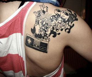 tattoo and nintendo image