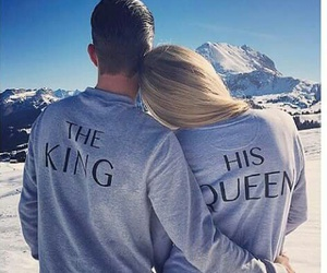 couple, love, and king image