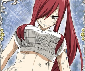 anime, cards, and fairy tail image