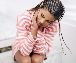 beautiful, braids, and cornrows image