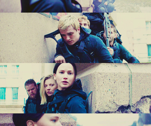 peeta mellark, Jennifer Lawrence, and josh hutcherson image