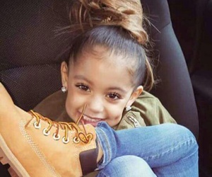 kids, smile, and timberland image