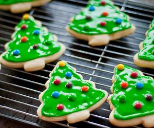 christmas, Cookies, and tree image