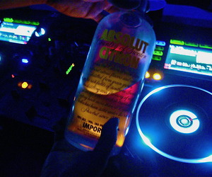 absolut, alcohol, and dj image