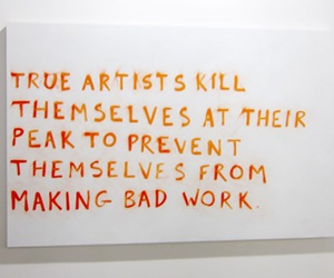 artist, art, and quote image