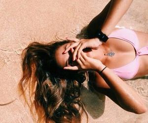 beach, girl, and tumblr image