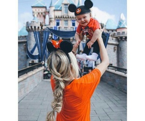 baby, disney, and disneyland image