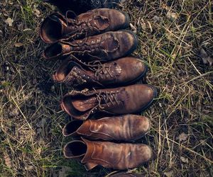 shoes, boots, and old image