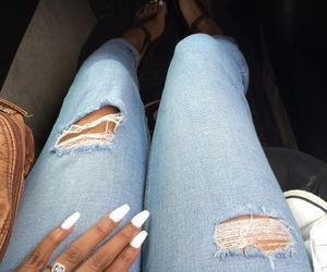 coffin, nails, and toes image