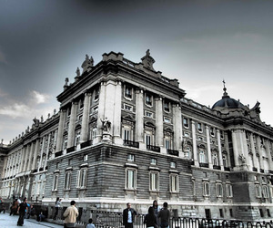 madrid, spain, and palace image
