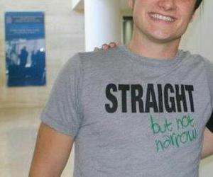 josh hutcherson and straight but not narrow image