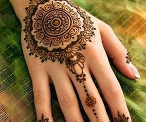 henna, beauty, and design image