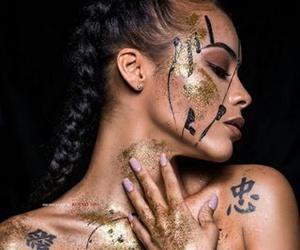 art, model, and photoshoot image