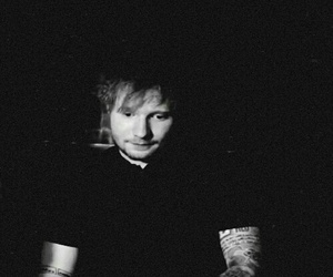 black and white, ed, and ginger image