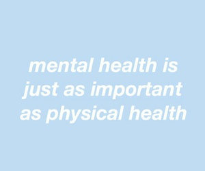 quotes, blue, and mental health image