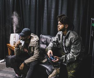 the weeknd, xo, and abel image