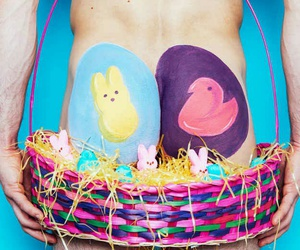 body art, funny, and peeps image