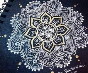 amazing, black, and art image