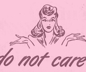 quote, care, and pink image