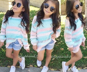 cute, girl, and kid image