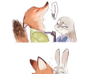 zootopia and kiss image