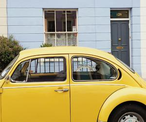 car and yellow image
