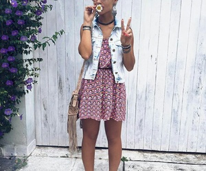 dress, girl, and look image