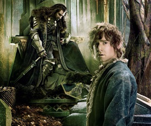 Martin Freeman, richard armitage, and the hobbit image