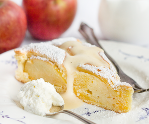 almond, apple, and food image