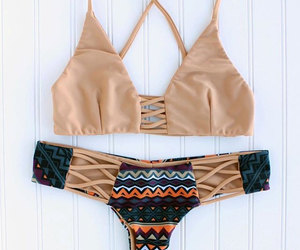 bathing suit, etsy, and summer image