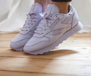 shoes, purple, and reebok image
