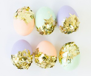 easter, easter eggs, and pastel image