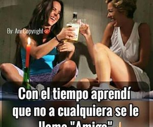 amigas, frases, and no image