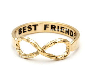 jewelry, infinity ring, and ring image