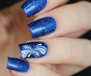 beauty, blue, and design image