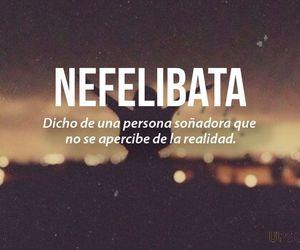 words, nefelibata, and Dream image