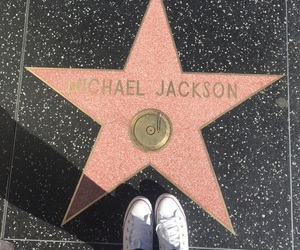 michael jackson and Walk of Fame image
