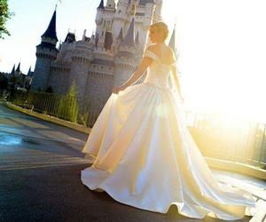 cinderella, disney, and wedding image
