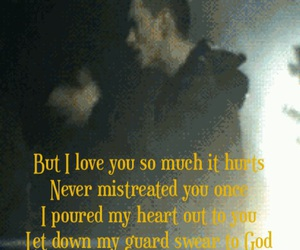 eminem, I Love You, and Lyrics image