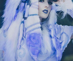 cosplay, kindred, and league of legends image