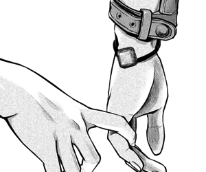 hands, manga, and fingers image